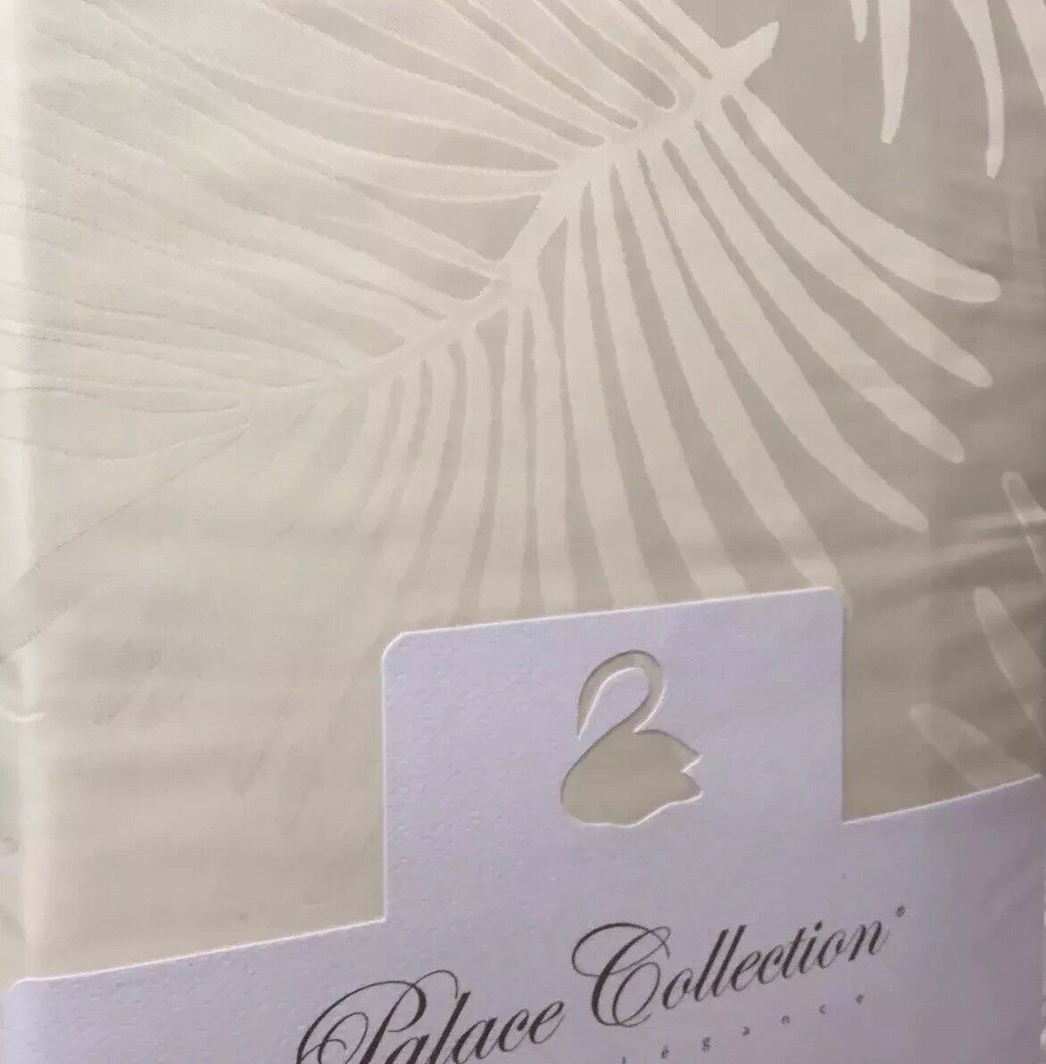 Yves Delorme PALMBAY IVOIRE  FLAT SHEET PALACE COLLECTION LUXURY