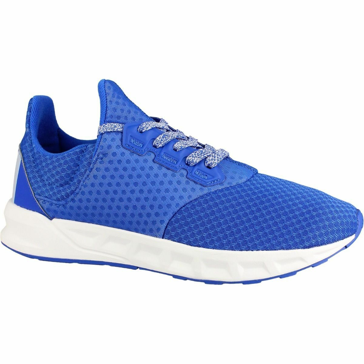 6210b531739fd Men's Adidas Performance Falcon Elite 5 m Running Training Sneakers Blue  BB4401