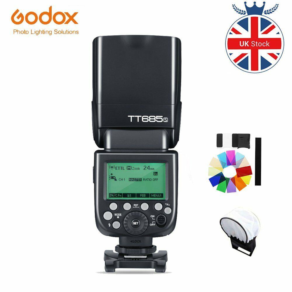 UK Stock Godox TT685S 2.4G Wireless GN60 TTL HSS Camera Flash Speedlite for Sony