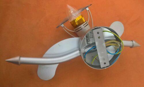 Deckenleuchte 230V~Deckenlampe mit LED-Energiesparlampe weißes helles Licht