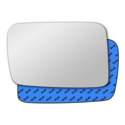 Left Hand Passenger Side Mirror Glass for Jeep Commander 2006-2010 0662LS