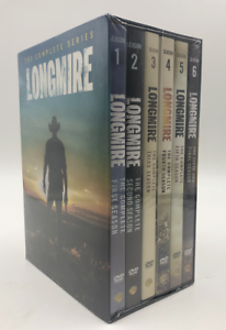 Longmire-The-Complete-Series-Season-1-6-DVD-Box-Set-15-Disc-New-amp-Sealed