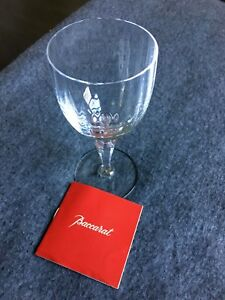 BACCARAT-CRYSTAL-Naples-Water-Goblet-Glass