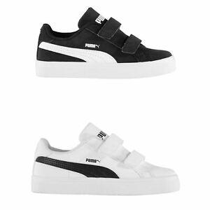 detailed pictures ef896 da39e Puma Smash Vulc Trainers Infants Boys Shoes Sneakers Kids ...