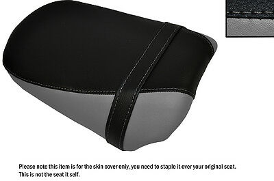 BLUE AND BLACK CUSTOM FITS BMW R 1100 RS FRONT LEATHER SEAT COVER