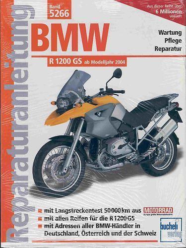 Istruzioni di riparazione 5266 per BMW R 1200 GS//r1200 GS//r1200gs//R 1200gs NUOVO