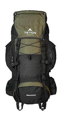 Teton SPORTS SCOUT 3400 Interne Cadre Sac à dos; High-Performance Sac à dos pour