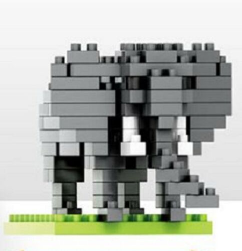 Exotic Animal Micro Sized Nano Block elephant 140pcs//blocks-NEW In Boxed