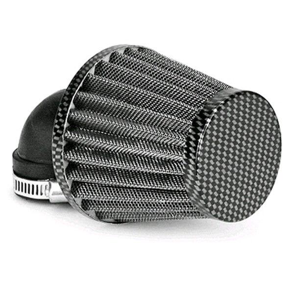 Filtro Aria Kn Piccolo 90° 28 35mm Simil Carbonio Scooter Universal