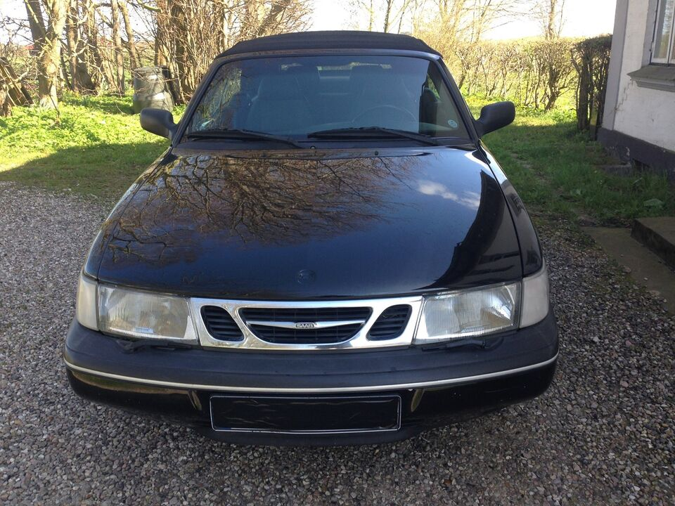 Saab 900, 2,5 V6 SE Cabriolet, Benzin