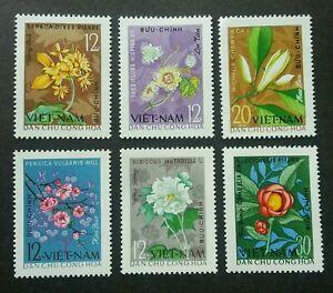 [SJ] Vietnam Four Seasons Flowers 1964 Flora Plant (stamp) MNH