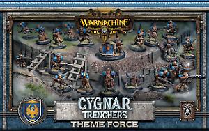 Cygnar Trencher Force Army låda
