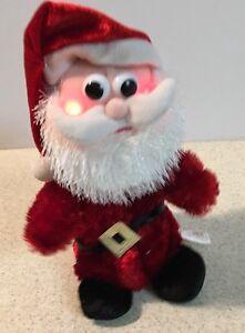 Christmas-Animated-Santa-Musical-Lighted-Plush-Stuffed-Animal-DanDee-9-034