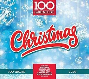 100-GREATEST-CHRISTMAS-COLDPLAY-KATE-WINSLET-THE-BASEBALLS-MUD-5-CD-NEW