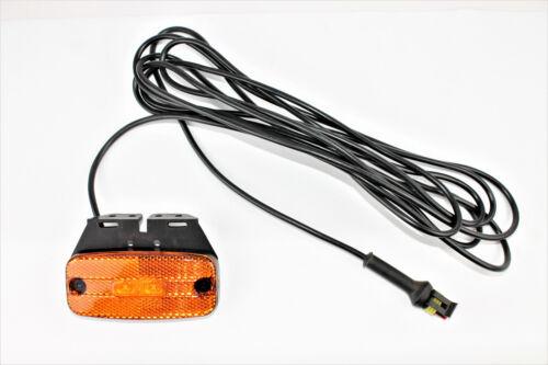 LED luz de posición lateral amarillo de Hella 24 voltios para remolques camiones nuevo l1675.1
