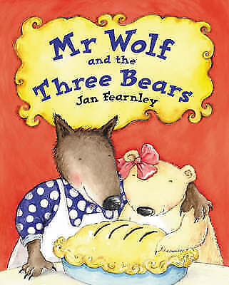 Mr.Wolf and the Three Bears, Acceptable, Fearnley, Jan, Book