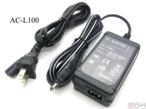 AC Adapter For Sony HDR-HC1 HDR-SR1 DSR-PDX10P DSR-PD100A DSR-PD150 DSR-PD170