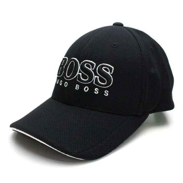 Hugo Boss Baseball Cap Mens Navy Premium Quality US Green Label 100 ... d5003bc8927