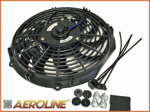 "12/"" Aeroline® Electric Radiator Cooling Fan Push//Pull Ideal HOT ROD KIT CAR"
