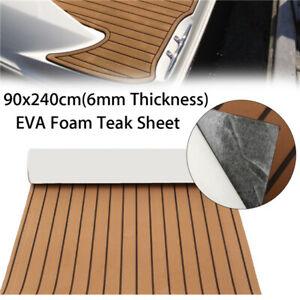 Yacht Car Deluxe Flooring Mat Faux Teak