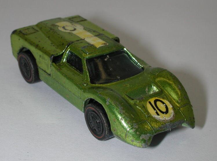 Redline Hotwheels Antifreeze 1968 Ford J Car oc11753