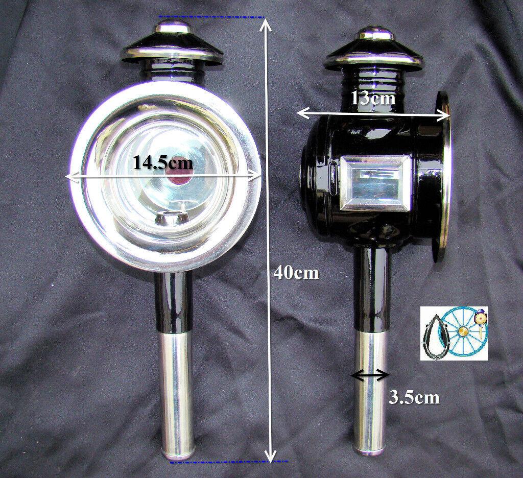 CAVALLO CARROZZA PULLMAN LUCI PONYCOB Dimensione in Ottone o bianca Metal Trim N10N11