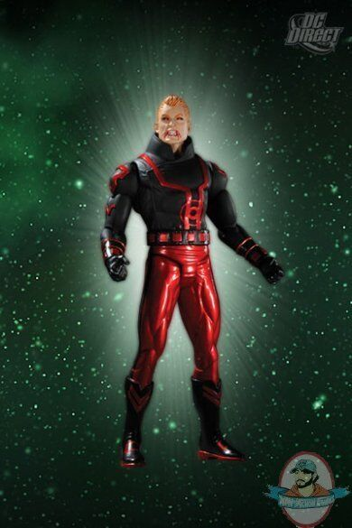 Green Lantern Series 4 Red Lantern Guy Gardner Action Figure by DC Direct