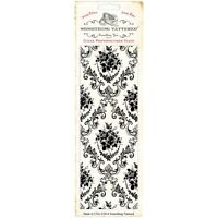 Something Tattered Parlor Vintage Acrylic Stamp Wallpaper Background