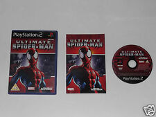 "Ultimate SPIDERMAN PER PLAYSTATION 2 ""MOLTO RARO & difficili da trovare"""
