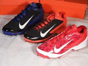 sports shoes 38674 4e90f Image is loading New-Nike-Air-Huarache-Pro-Low-Metal-Baseball-