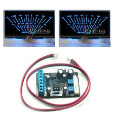 2x P 134 Vu Panel Meter Db Level Power Amplifier With Power Supply Driver Board