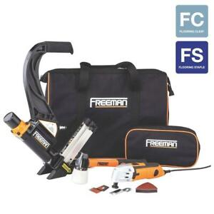 Freeman P50mtck Flooring Nailer And Oscillating Multi