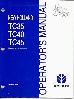 New Holland Tc Wiring Diagram on