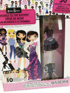 New Fashion Angels Models To The Runway Design Kit 10 Mannequins Spotlight 787909117533 Ebay