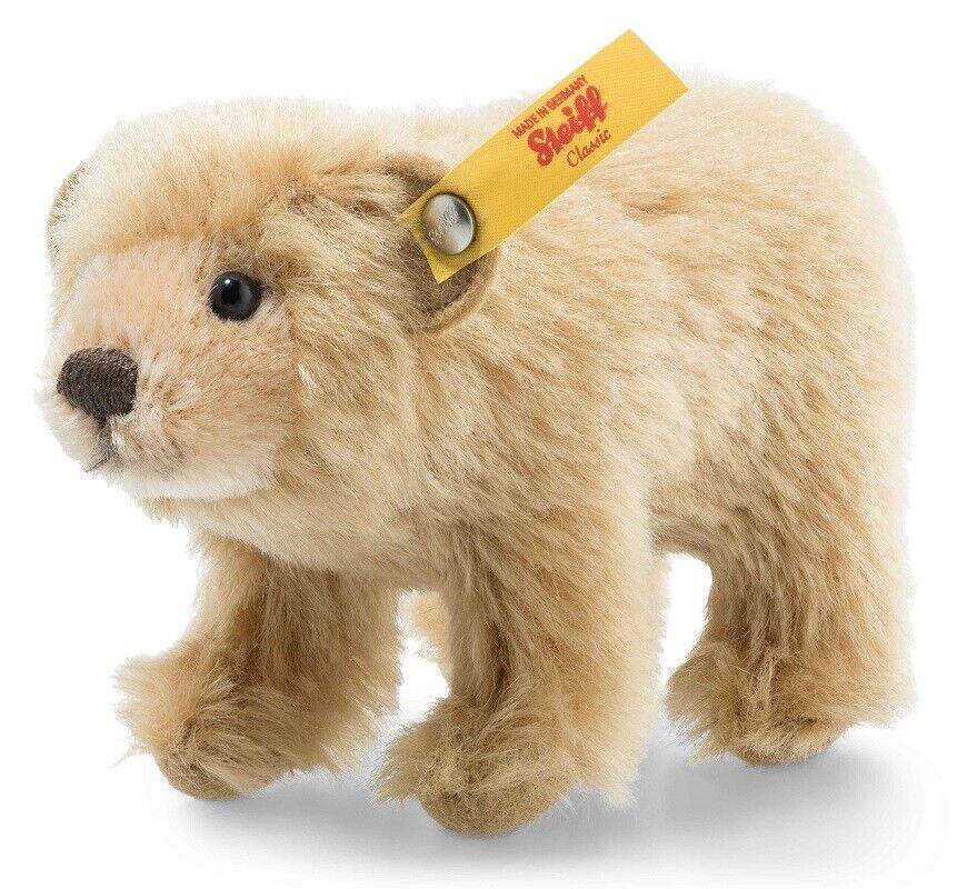Steiff Bär Bär Bär in Wildlife Geschenkbox - Klassisches Mohair Polar - 12cm - EAN eccad9