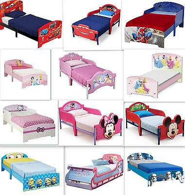 Disney Kinderbett Auswahl Cars Frozen Minion Kinderzimmer Mädchen Jungen Bett   eBay