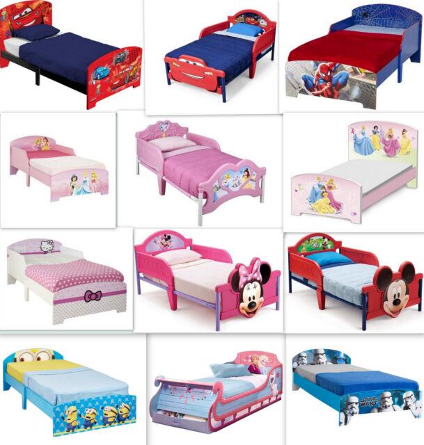 Disney Kinderbett Auswahl Cars Frozen Minion Kinderzimmer Mädchen Jungen  Bett