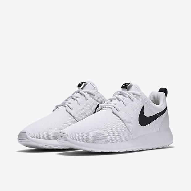 Size 8 - Nike Roshe One White Black for
