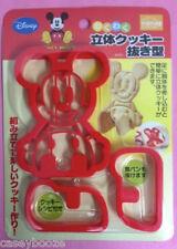 Mickey Mouse 3D Cookie Cutters Decoración Pastel Sugarcraft - - - Reino Unido Stock