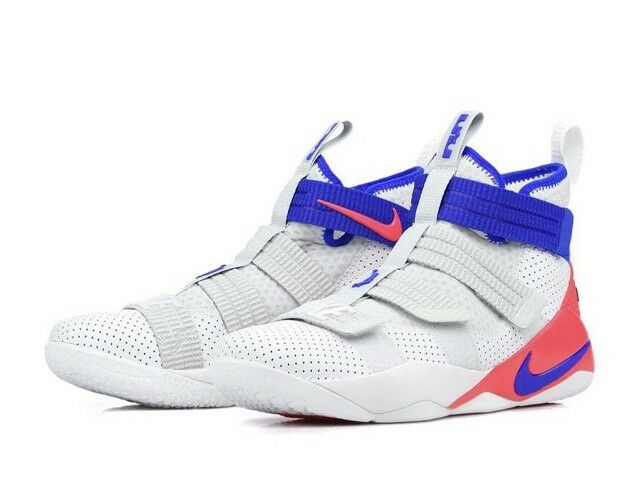 Nike Lebron Soldier XI SFG 'Ultramarine' 897646-101 White US 13.5