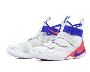 987033684ba1 Nike Lebron Soldier XI SFG  Ultramarine 897646-101 White UK 13 EU ...