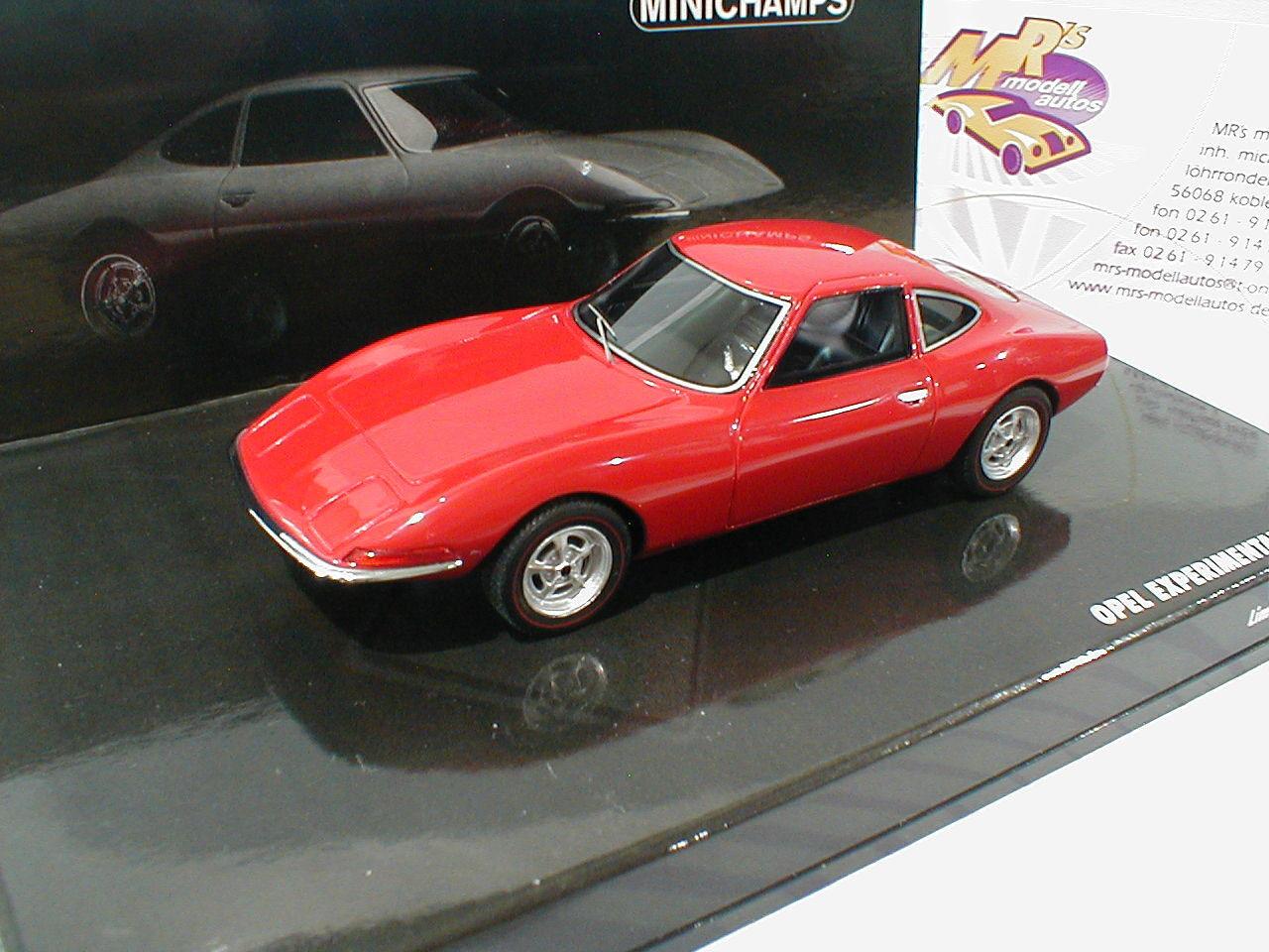 Minichamps 437045020 # OPEL ExperiHommes tal GT coupé année modèle 1965 dans
