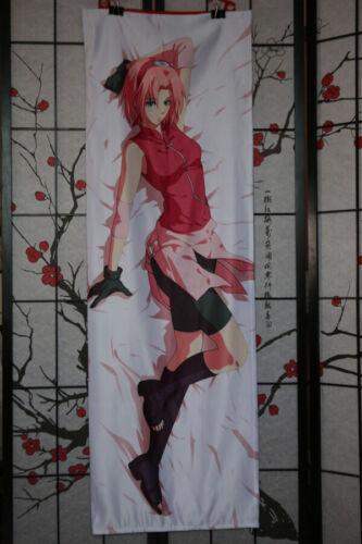 Anime Naruto hugging pillow case №671 Sakura Haruno Dakimakura 50x150cm