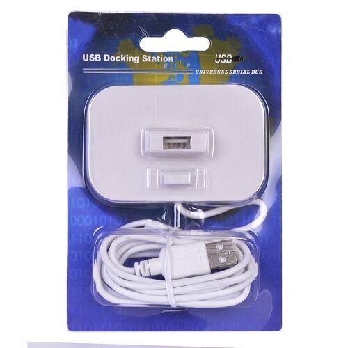 M Monoprice USB Docking Station to USB A USB A BRAND NEW White F