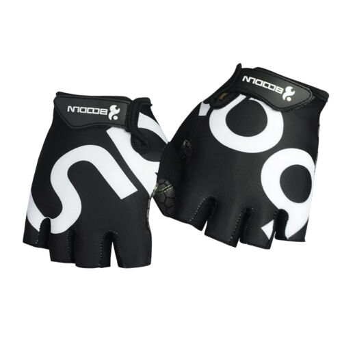 BOODUN Men Women Cycling Bike Bicycle GEL Shockproof Sports Half Finger Gloves