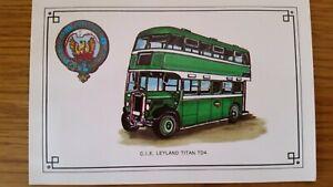 RARE-C-I-E-LEYLAND-Titan-TD4-Bus-POSTCARD-Irish