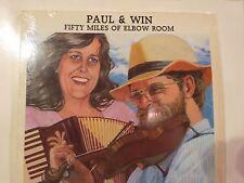 PAUL & WIN GRACE 50 MILES OF ELBOW ROOM N/M VINYL IN SHRINK  WELLSPRING LP 4901