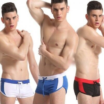 Badehose JQK Hipster Shorts Schwimmhose Gay Sexy Badeshorts Desmiit ES Addictet