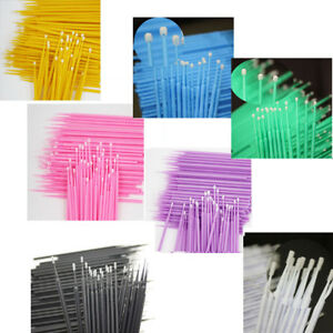 Dental-Disposable-Micro-Applicator-Brush-Bendable-Painting-Makeup-Brush-100-PCS