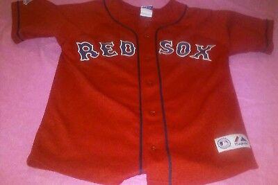 100% Wahr Daisuke Matsuzaka Boston Red Sox Majestic Trikot Rot Mlb Jugendliche Sz Stabile Konstruktion Sport